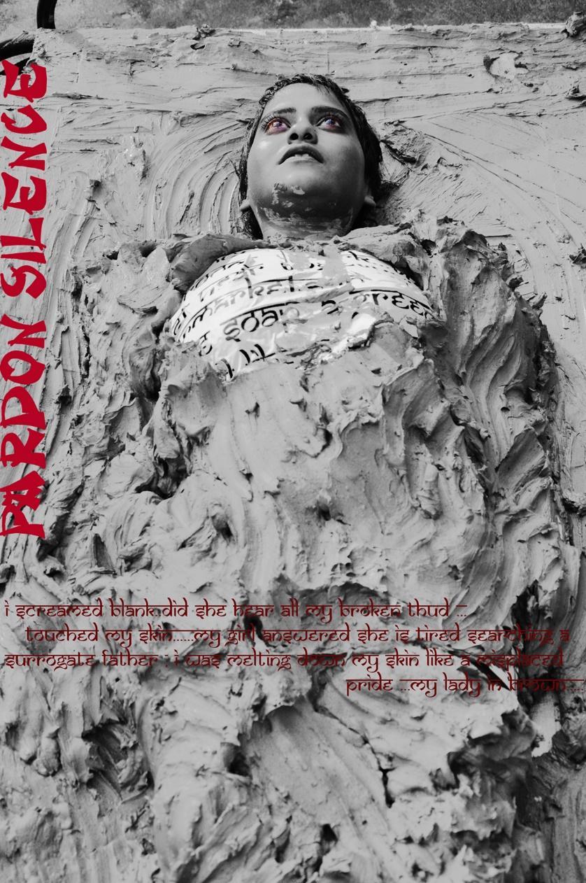 Dhrupadi Ghosh, Pardon Silence, Performance Still, 2011. Photo Credit: The artist.